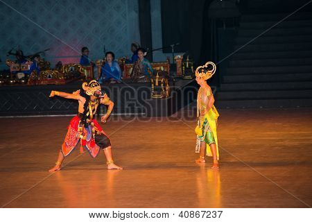 Ramayana Ballet At At Prambanan, Indonesia
