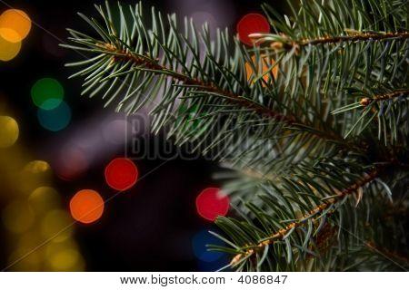 Weihnachtsschmuck auf schwarz