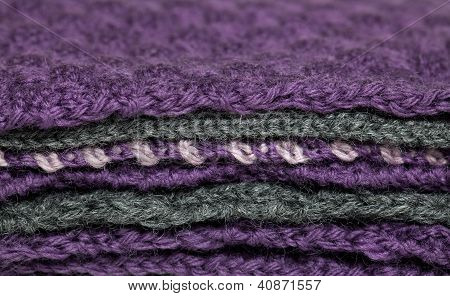 Knitted Fabric Pile