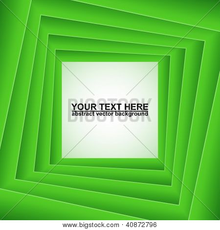 Plazas verdes, Fondo de vector abstracto