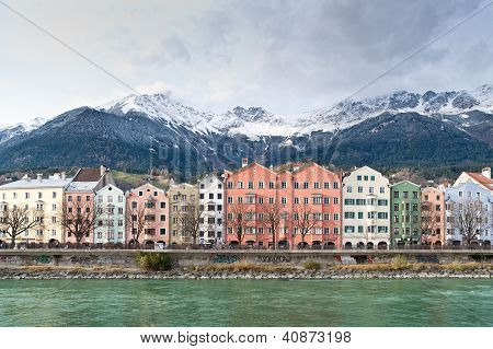 Row of Houses in Innsbruck