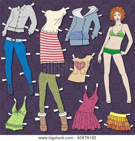 menina moda