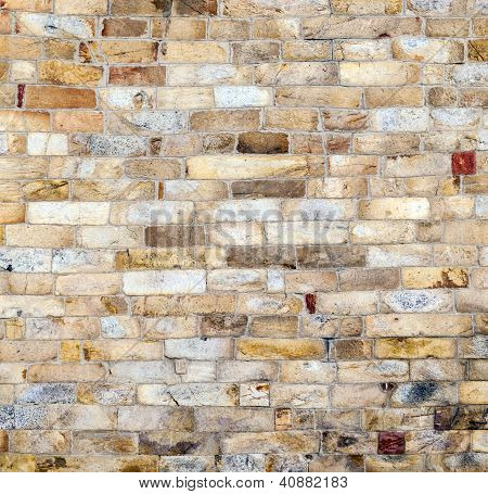 Stones At The Wall Of Qutub Minar Tower, The Tallest Brick Minaret In The World , Delhi India.