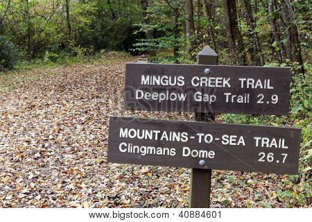 Sign In Smoky Mountains