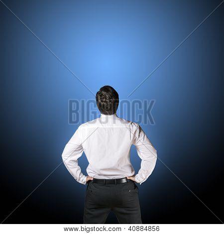 Business Man Backside