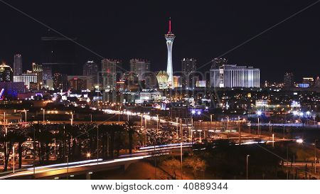 A Stratosphere View From Mccarran International Airport
