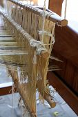 picture of loom  - Old vintage loom - JPG