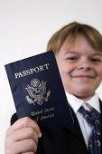 Showing His Passport