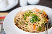 Delicious Singapore fried rice noodles