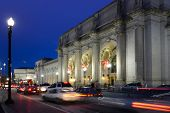 Washington DC, Union Station en la noche