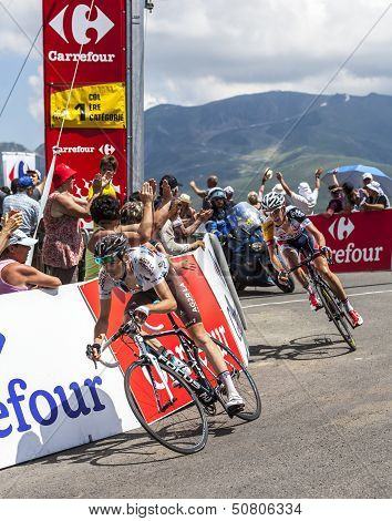 The Cyclist Romain Bardet