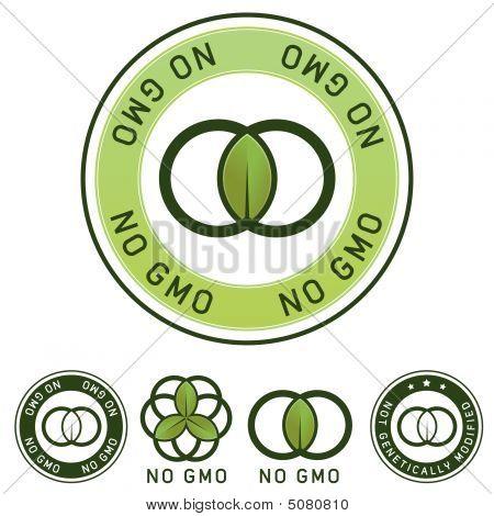 Etiqueta de alimentos no modificados genéticamente (no Gmo)