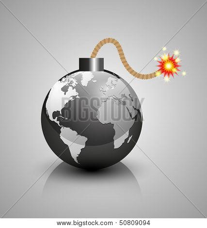 World Crisis Bomb Icon