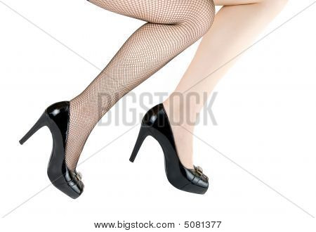 Two Pretty Woman Legs