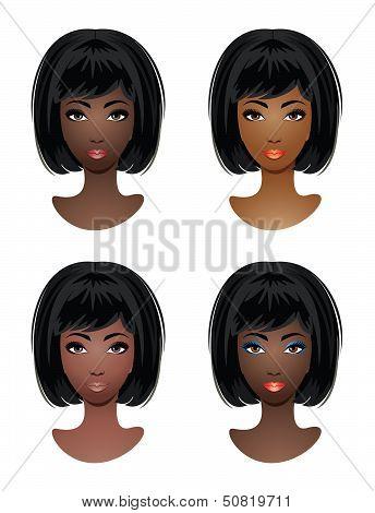 Makeup For African-american Women.