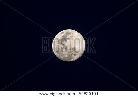 Full Moon As Seen From The Southern Hemisphere