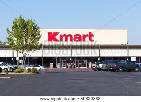 Sacramento, Usa - September 13: Kmart Store Entrance On September 13, 2013 In Sacramento, California