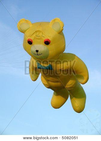 Giant Yellow Bear Kite