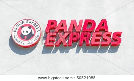 Sacramento, Usa - September 13: Panda Express Restaurant On September 13, 2013 In Sacramento, Califo
