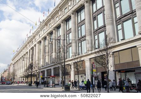 Selfridges Department Store, London