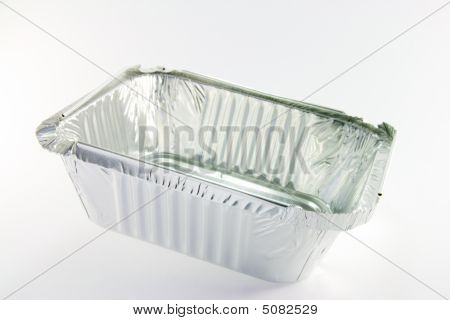 One Square Opened Catering Tray