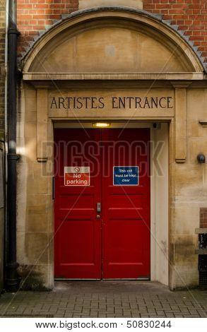 Stage Door, Concert Hall