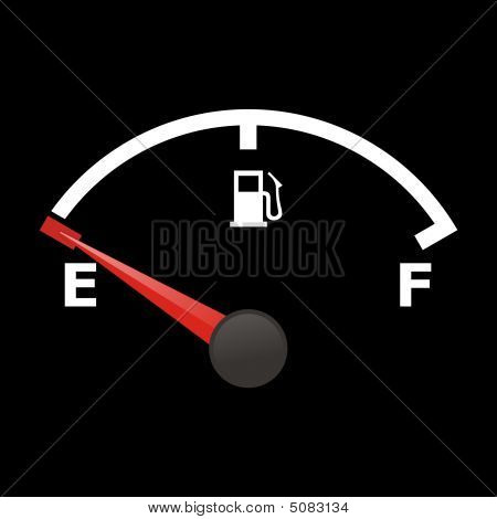 Fuel Gauge - Empty