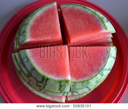 Seedless Watermelon stack