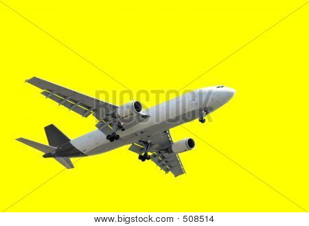 Isolated Airplane