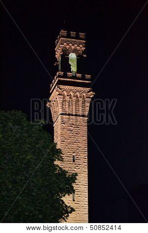 Pilgrim Monument At Night 2