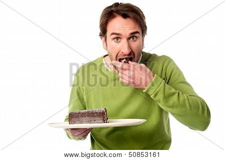 It's An Amazingly Delicious Chocolate Cake