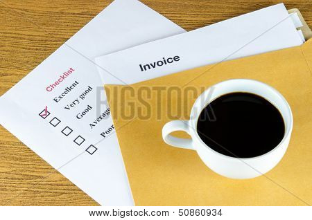 Invoice Coffee