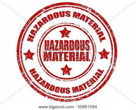 Hazardous Material-stamp