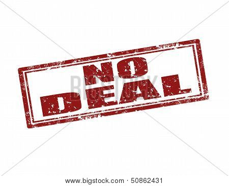 No Deal-stamp
