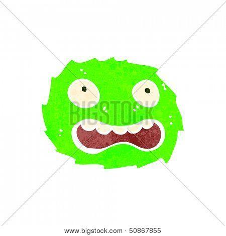 poster of retro cartoon furball creature