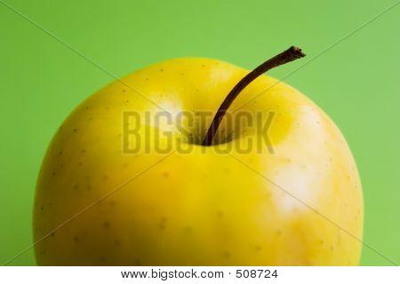 Half Yellow Apple