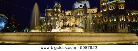 Fountain Of Cibeles, Madrid, Spain