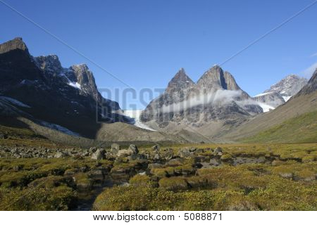 Mountains In Dronning Marie Dal, Greenland