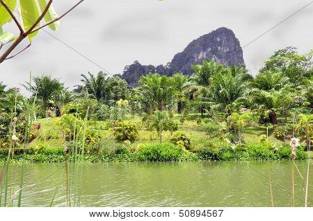 Across the valley, near Krabi