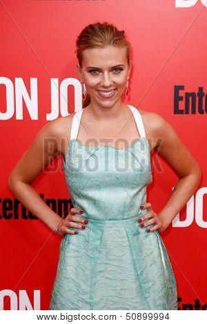 NEW YORK-SEP 12: Scarlett Johansson attends the