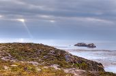 stock photo of pch  - Garrapata State Beach at Dusk on a September evening - JPG