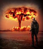 stock photo of nuclear bomb  - World Apocalypse - JPG
