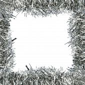 Frame Of Silver Tinsel