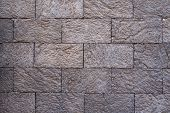 image of arriere-plan  - Image of a rectangular brick wall texture background - JPG