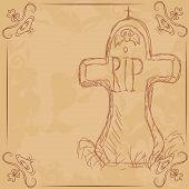picture of headstones  - R - JPG