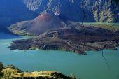 image of gunung  - Crater of Gunung Rinjani volcano Lombok island Indonesia - JPG