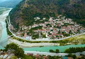 stock photo of house woods  - Berat - JPG