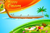 stock photo of onam festival  - illustration of Onam wallpaper of Kerala - JPG