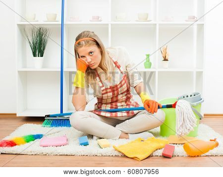 Fed up of cleaning