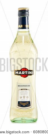 Bottle Of Martini Isolated On White